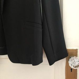 H&M Jackets & Coats - H&M black slinky dressy evening blazer